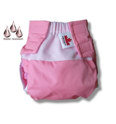 Пеленка-кокон из фланели на липучке Ontario Deep Sleep Flanel 3 Classic розовая, от 0 до 3 месяцев