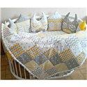 Кроватка Дитячий сон с маятником и ящиком, цвет натуральный