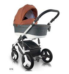 Детская коляска 2 в 1 Adamex Aspena 11P