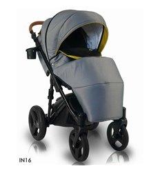 Детская коляска 2 в 1 Adamex Aspena Len 303W