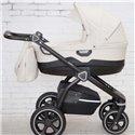 Детская коляска 2 в 1 Roan Bass Soft Eco Dark Grey