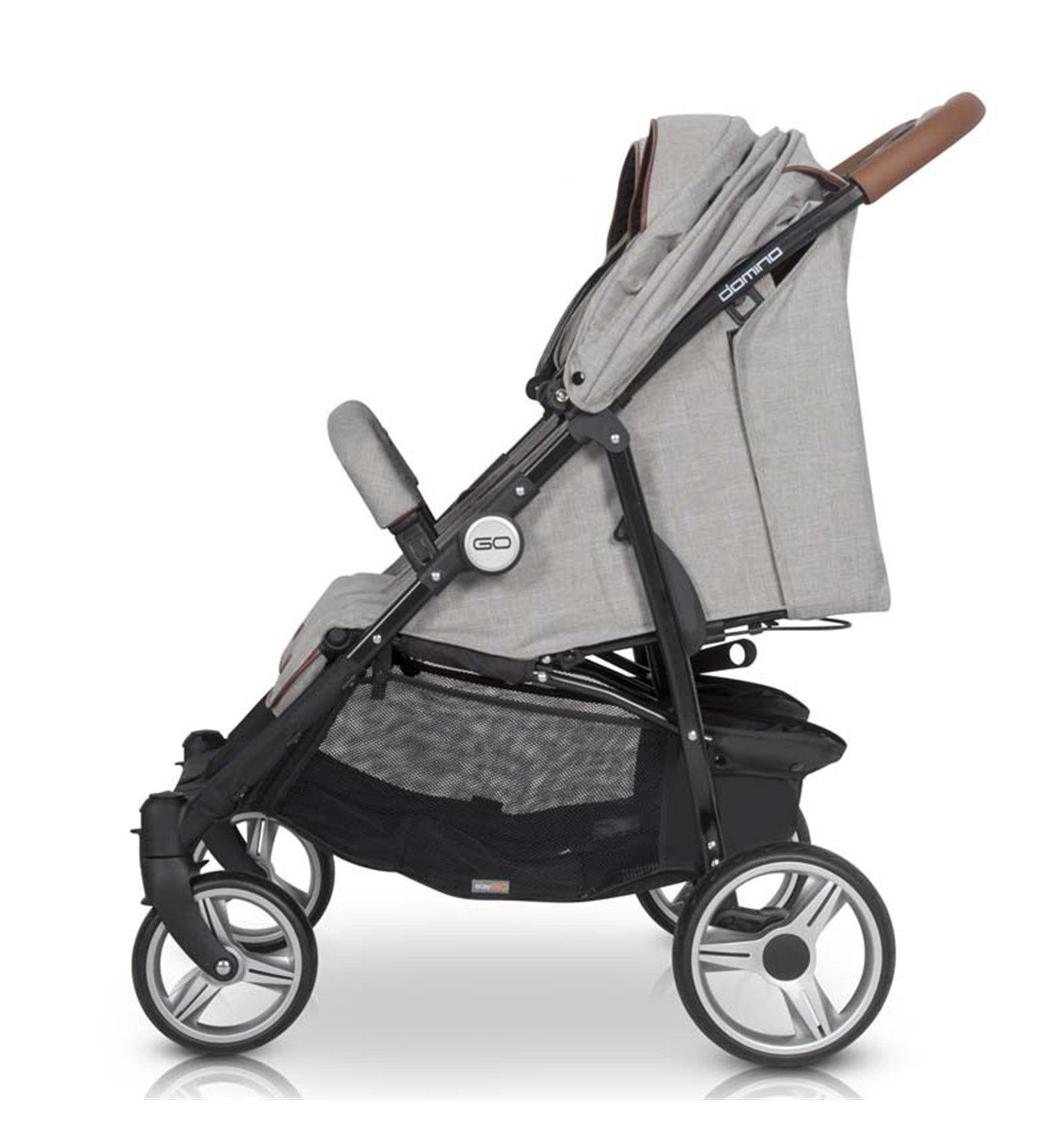 Детская универсальная коляска 2 в 1 Броко Эко 02