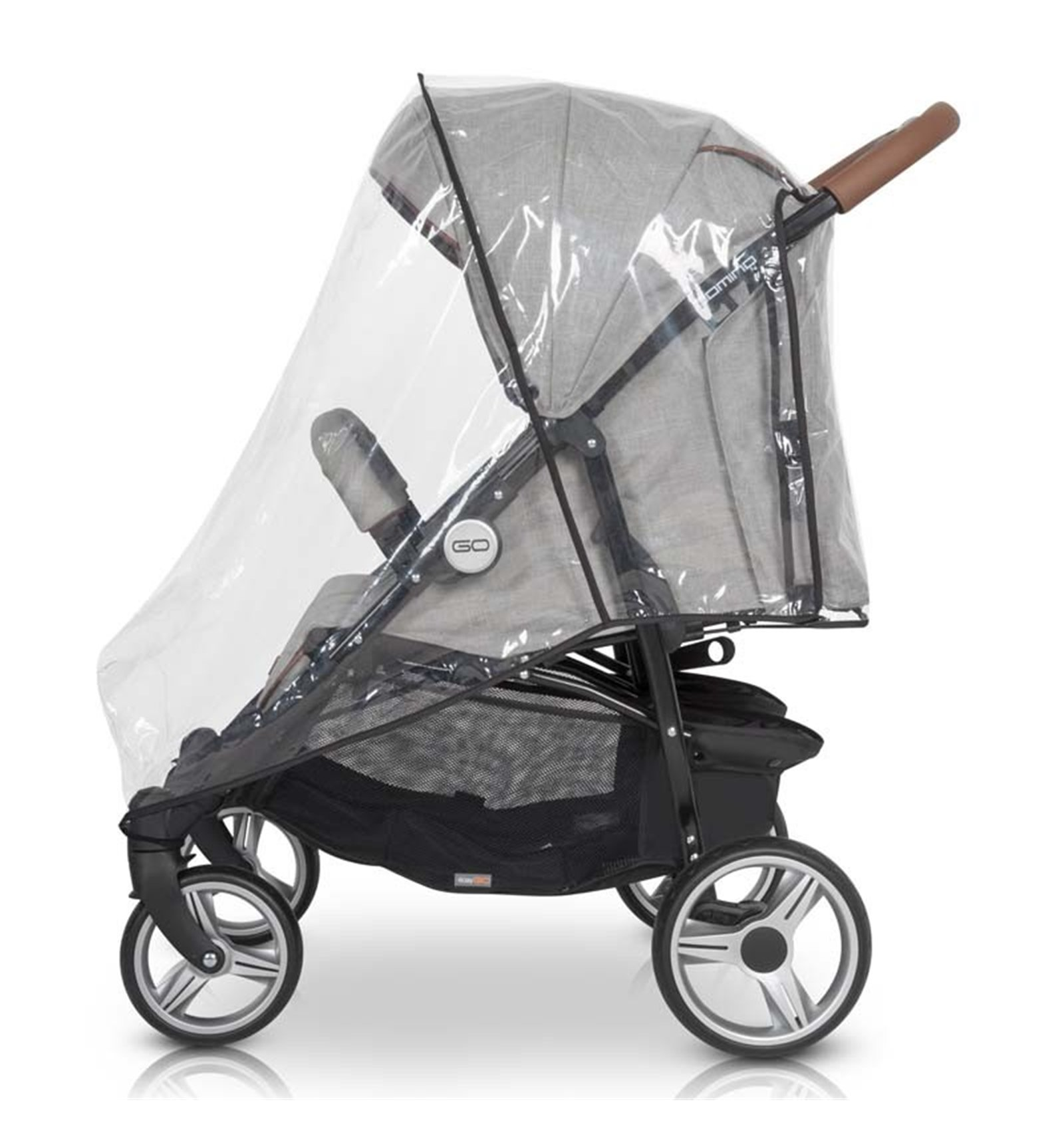 Детская универсальная коляска 2 в 1 Броко Порто 01