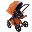 Детская коляска 2 в 1 Adamex Monte Deluxe Carbon D32