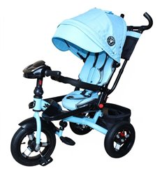 Детская прогулочная коляска 4Baby Rapid Black
