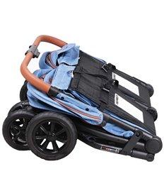 Автокресло детское 4Baby Aygo синее, 0-18 кг