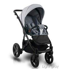 Детская прогулочная коляска 4Baby Shape серая
