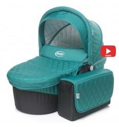 Автокресло детское EasyGo Camo Isofix Adriatic, 15-36 кг