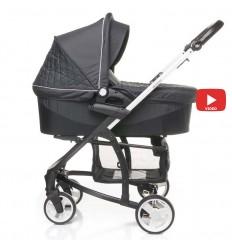 Автокресло детское EasyGo Extreme Isofix Carbon, 15-36 кг