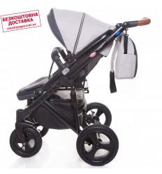 Автокресло детское EasyGo Rotario Isofix Titanium, 0-18 кг