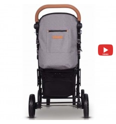 Детская прогулочная коляска Chicco Miinimo 2 Silver 79444.49