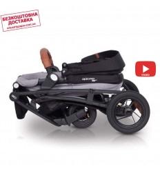 Универсальная коляска для двойни EasyGo 2ofUS Denim
