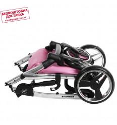 Кресло груша Фреш Фиолетовый 90-60 см Tia-sport