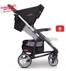 Детская прогулочная коляска Chicco Kwik.One Jet Black
