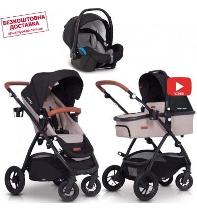 Люлька-шезлонг-стульчик для кормления Chicco Baby Hug 4 в 1 Glacial