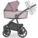 Детская коляска 2 в 1 Adamex Luciano Jeans Q-310