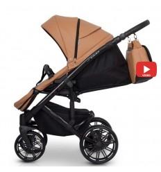 Детская коляска 2 в 1 Mikrus Safari Cross 11 Mare текстиль