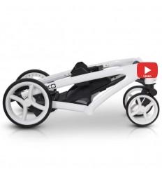 Комод с накладным пеленатором My-Baby ZEFIR на 5 ящиков белый