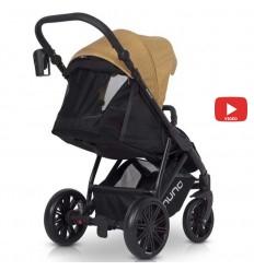 Детская коляска 3 в 1 Verdi Mirage 07 коричневая