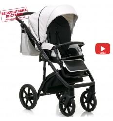 Детская прогулочная коляска Babyhit Rainbow D200 Dark Blue