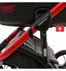 Детская прогулочная коляска Babyhit Rainbow D200 Violet-Grey