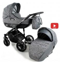 Детская прогулочная коляска BabySing S-Go British bands
