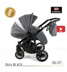 Детская прогулочная коляска BabySing K-Go Yellow-Blue