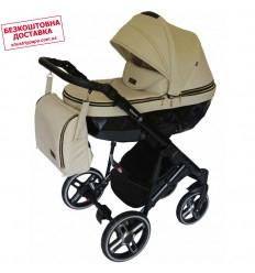 Детская коляска 3 в 1 Verdi Sonic Plus 12 бежевая