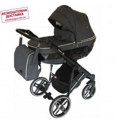Детская коляска 3 в 1 Verdi Sonic Plus 13 серая
