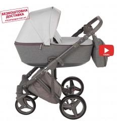 Детская коляска 2 в 1 Euro-Cart Delta Grey Fox
