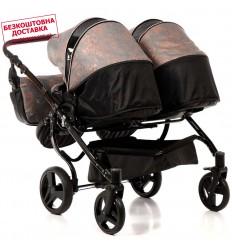 Детская прогулочная коляска Coletto Nevia Dark Grey