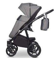 Детская коляска 3 в 1 Verdi Mirage Eco Premium Silver