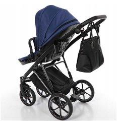 Детская коляска 2 в 1 Coletto Florino New FN-03 серая с белым