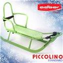 Санки Adbor Piccolino зі спинкою зелені