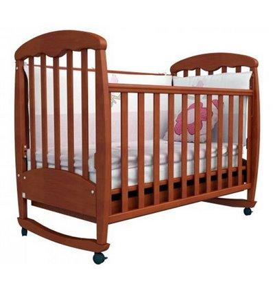 Кроватка Верес Соня ЛД1, Цвет-ольха