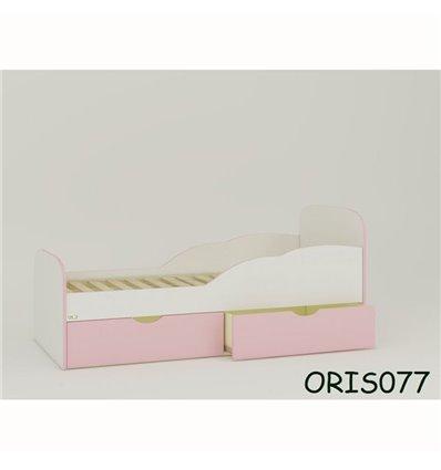Подростковая кроватка Oris Selena бело-розовый