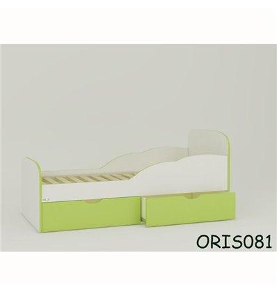 Подростковая кроватка Oris Selena бело-зеленый