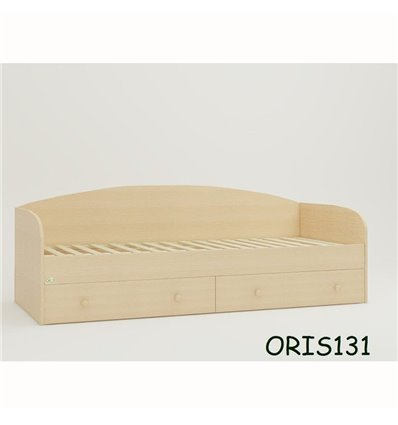 Подростковая кроватка Oris Nika сосна лоредо светлый венге