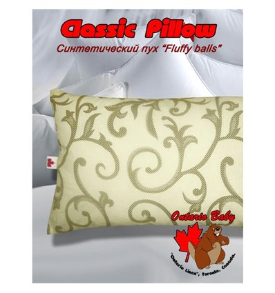 Подушка детская Ontario Classic Pillow от 1 года