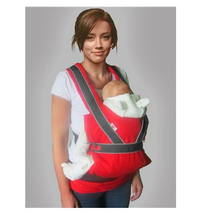 Ергономічний рюкзак-переноска Ontario Summer Breezy Premium Червоний 045