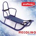Санки Adbor Piccolino со спинкой синие