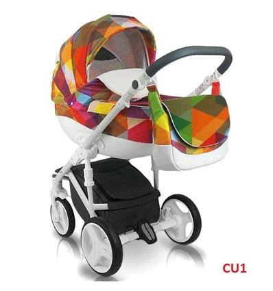 Детская коляска 2 в 1 Bexa Cube Amo CU1