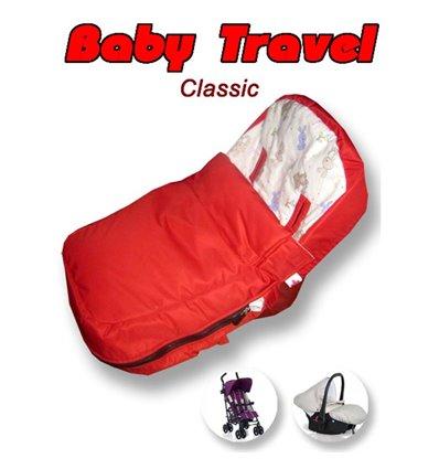 Конверт Ontario Baby Travel Classic Червоний