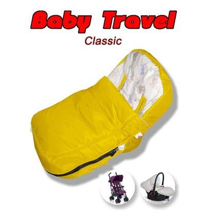 Конверт Ontario Baby Travel Classic Желтый