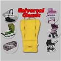 Матрасик-трансформер в коляску Ontario Universal Classic Yellow