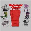 Матрасик-трансформер в коляску Ontario Universal Classic Red
