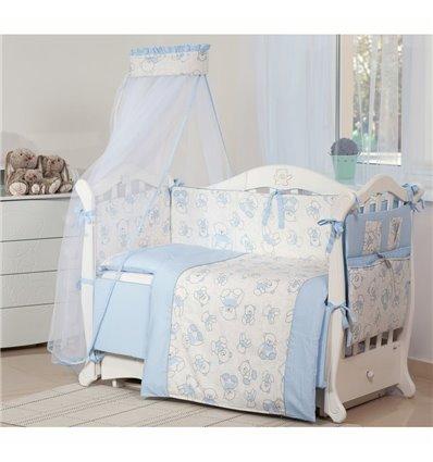 Детская постель Twins Dolce 8 элементов D-007 Bears