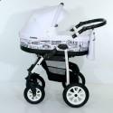 Дитяча коляска 2 в 1 Verdi Laser 03