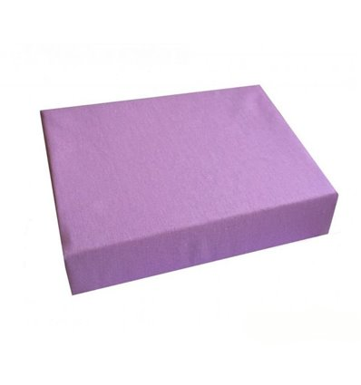 Простынь Twins на резинке фиолетовая
