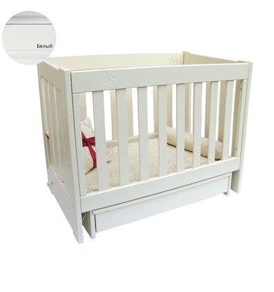 Кроватка Колисани Аврора белый